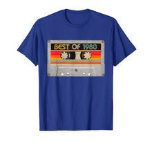 Load image into Gallery viewer, Best Of 1980 40th Birthday Gifts Cassette Tape Vintage T-Shirt-87736