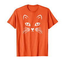 Load image into Gallery viewer, Cat Face T Shirt: Halloween Tshirt For Women Girls Boys Kids T-Shirt