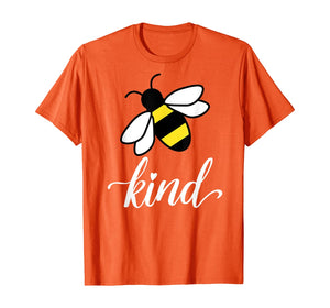Be kind bee orange Unity day anti bullying kindness gift T-Shirt