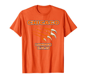 Chicago American Football Jersey UK London Fan T-Shirt