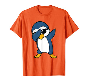 Dabbing Penguin TShirt Cool Cute Animal Dab Boy Girl Shirt