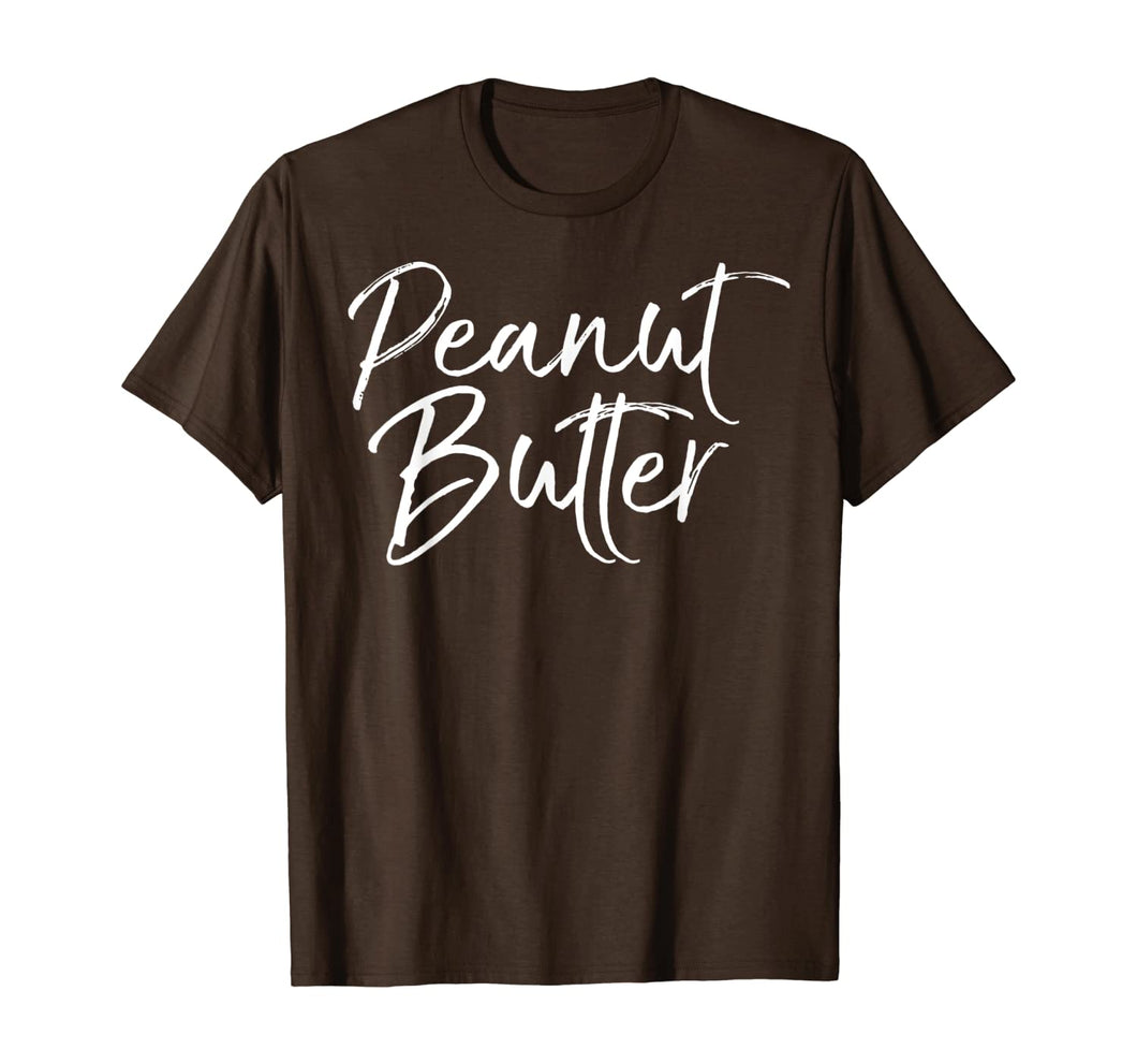 Easy Halloween Costume Couples Matching Jelly Peanut Butter T-Shirt
