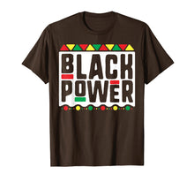 Load image into Gallery viewer, Black Power T-Shirt for Men Women Kids History Month Africa