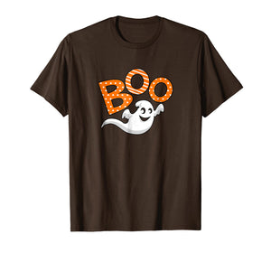Boo Halloween T-Shirt With Ghost