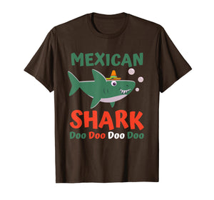 Cinco De Mayo Shirt Kids Toddler Women Men Mexican Shark T-Shirt