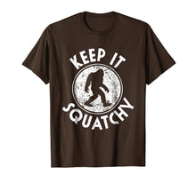 Load image into Gallery viewer, Keep it Squatchy Bigfoot T-Shirt Funny Sasquatch Gift