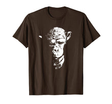 Load image into Gallery viewer, Chimpanzee T Shirt Thinking Monkey, Ape, Cool Chimp Tee