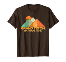 Load image into Gallery viewer, Retro Vintage Grand Teton Shirt National Park Tee Shirt