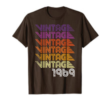 Load image into Gallery viewer, 1969 Vintage 50th Birthday Gift Retro Graphic T Shirt