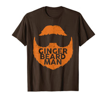 Load image into Gallery viewer, Mens Ginger Beard Man Red Beard T-Shirt