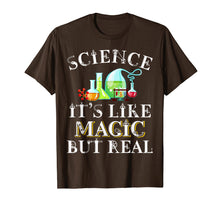 Load image into Gallery viewer, Science Its Like Magic But Real Funny Science Teacher Shirt