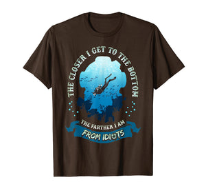 Funny Scuba Diving T Shirt