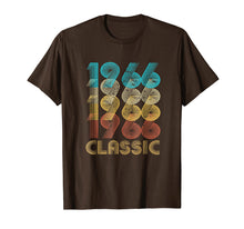 Load image into Gallery viewer, 53rd Birthday Gift Vintage 1966 T Shirt Classic Men Women
