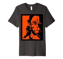Load image into Gallery viewer, Angry Hanuman Tshirt Premium Quality