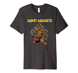 Amon Amarth Viking Warrior Premium T Shirt