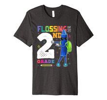 Load image into Gallery viewer, Funny Back to School 2nd Grade Flossing Crayon Shirt Kids