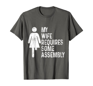 Amputee Humor Wife Assembly Leg Arm Funny Recovery Gifts T-Shirt