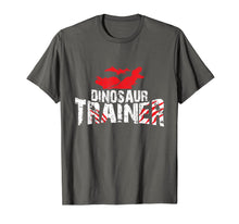 Load image into Gallery viewer, Dinosaur Trainer Cool Halloween Costume Idea Gift T-Shirt