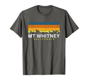 Mount Whitney T Shirt California Vintage Souvenirs CA