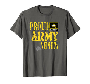 Proud Army Nephew Shirt Military Pride T Shirt