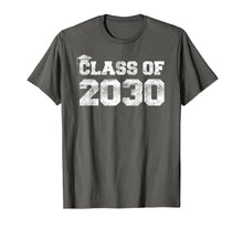 Load image into Gallery viewer, Class Of 2030 T-Shirt Kindergarten Grad Back To School Adult