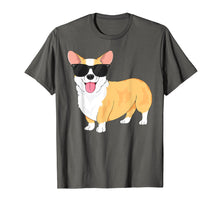 Load image into Gallery viewer, Vintage Cool Corgi T-Shirt for Boys Kids Dog Sunglasses