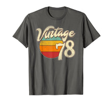 Load image into Gallery viewer, 1978 Retro Vintage 41th Birthday Gift T Shirt