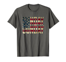 Load image into Gallery viewer, American Flag Sunday Gunday Gun Pistol Firearms T-Shirt