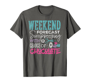 Scrapbook T-shirt Weekend Forecast Scrapbooking Crafting
