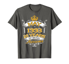 Load image into Gallery viewer, May 1993 T-Shirt 26th Birthday Gift 26 Years Old T-shirt