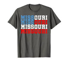 Load image into Gallery viewer, Missouri T-Shirt Election 2020 Reelection USA Flag Tshirt