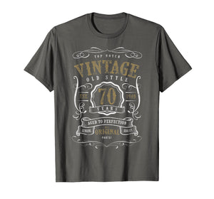 70th Birthday Gift Vintage 1949 All original parts T-Shirt