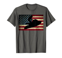Load image into Gallery viewer, Jet Ski T Shirt Jet Skier Tee Jet Skiing T-Shirt USA Flag
