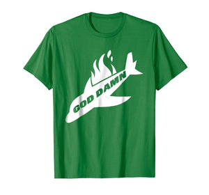 Jets Shirt God Dam Funny New York Football