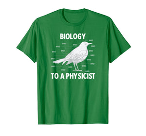Biology to a Physicist - Funny Physics Shirt