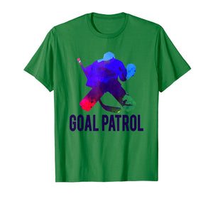 Goal Patrol Hockey Shirt | Cool Ice Hockey Goalie Gift