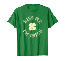 Load image into Gallery viewer, Kiss Me I'm IRISH Shirt St Saint Patrick's Day T-shirt
