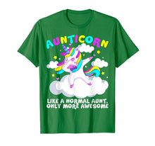 Load image into Gallery viewer, Like A Normal Aunt Only More Awesome Unicorn T shirt