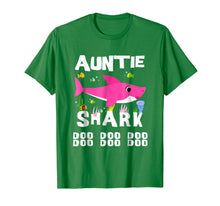 Load image into Gallery viewer, Auntie Shark T Shirt Mother Grandma Mother's Day Christmas