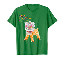 Load image into Gallery viewer, Beautiful Chinese Lion Dance Shirt Outfit Costume Gift