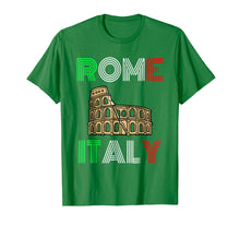 Load image into Gallery viewer, Rome Colosseum Italy Souvenir T-Shirt | Tourist Flag Tee