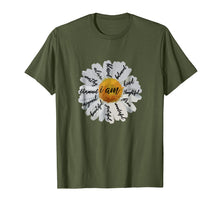 Load image into Gallery viewer, Motivational T Shirts Women-Positive Affirmation I AM Daisy