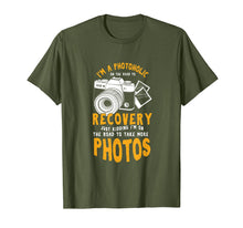 Load image into Gallery viewer, A Photoholic Road To Recovery Funny Photographer T-Shirt