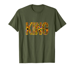 African Tribal Print King T Shirt for men