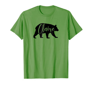 Claire Bear Animal Personalized Name Standard T-Shirt