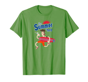 Travel The World Summer Is Here Graphic T-Shirt