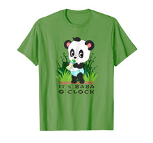 Load image into Gallery viewer, IT'S BABA O'CLOCK ABDL adult baby diaper lover Panda T Shirt