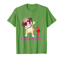 Load image into Gallery viewer, 9th Birthday Girl T-shirt Funny Pug dog 9 Years old Birthday
