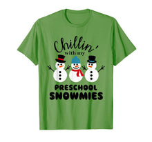 Load image into Gallery viewer, Chillin' With My Preschool Snowmies T-Shirt