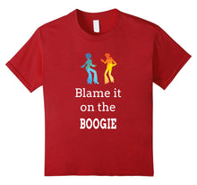 Load image into Gallery viewer, Blame it on the Boogie Shirt for Funky Dance Music Lover Tee